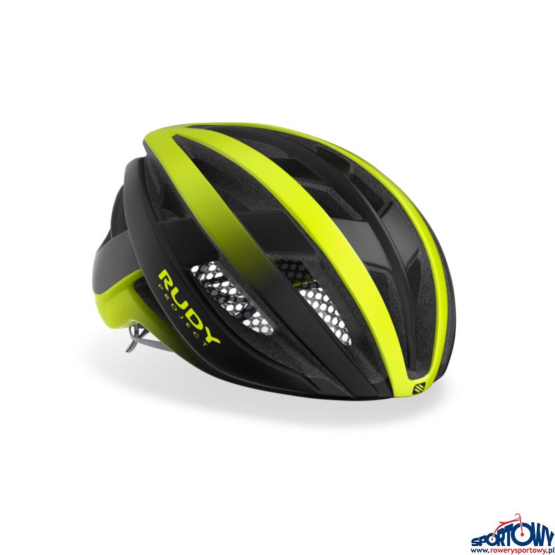 kask Rudy Project Venger Yellow-Black L(59-62)