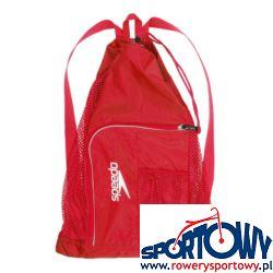 Torba Speedo Deluxe Vent Mesh Bag 33L Red