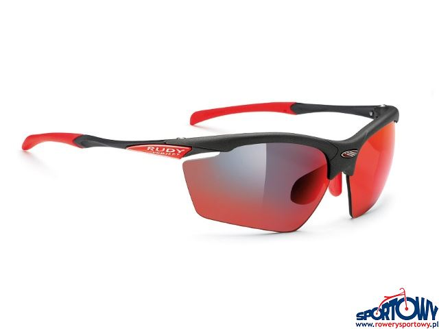 OKULARY RUDY PROJECT AGON GRAPHITE-MULTILASER RED