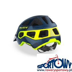 KASK RUDY PROJECT PROTERA BLUE-ORANGE L (MATTE)