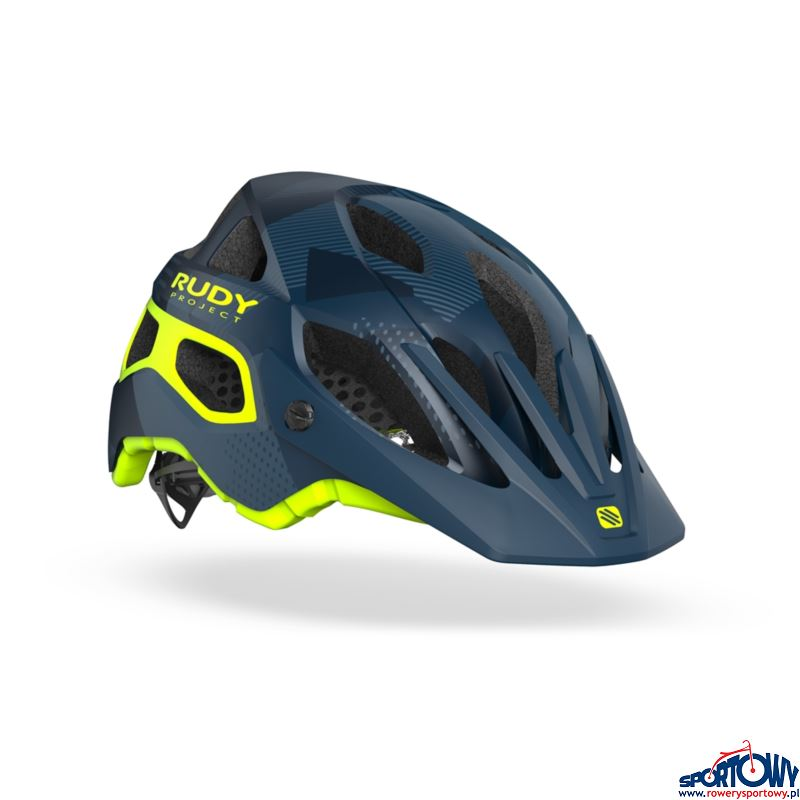 KASK RUDY PROJECT PROTERA BLUE-ORANGE M-S (MATTE)