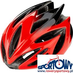 KASK RUDY RUSH RED-BLACK (SHINY)