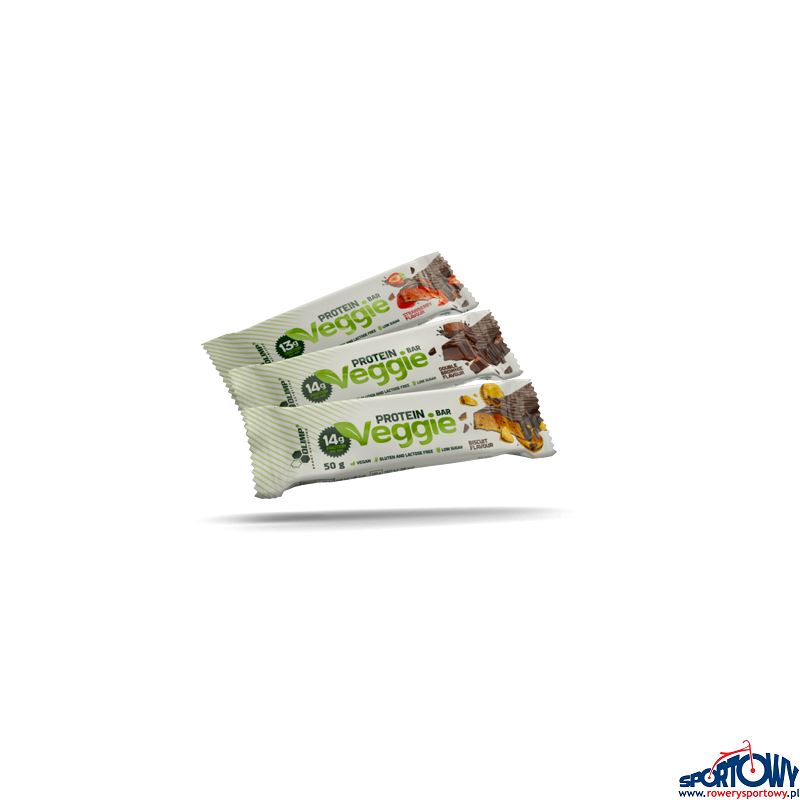 VEGGIE PROTEIN BAR 50g STRAWBERRY